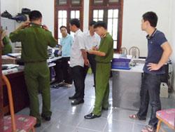 UBND thành phố Thái Bình, nơi anh Viết xả súng bắn cán bộ. Photo courtesy of docbao.vn