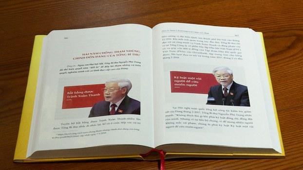 Sách viết về Tổng Bí thư kiêm Chủ tịch nước Nguyễn Phú Trọng.