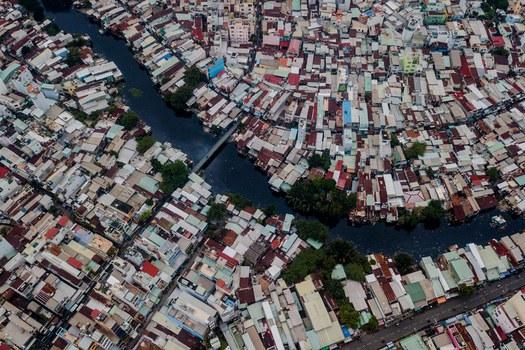 Thành phố Hồ Chí Minh nhìn từ trên cao