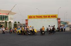Bến xe trung tâm Đà Nẵng. RFA photo