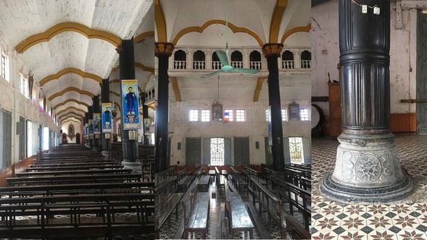 Hình ảnh bên trong nhà thờ Bùi Chu.