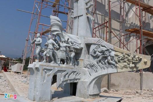 Công trình tượng đài chiến thắng Khâm Đức, ở huyện Phước Sơn, tỉnh Quảng Nam.