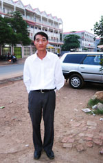 Anh Lê Trí Tuệ mất tích tại Campuchia vào ngày 16 tháng 5 năm 2007.