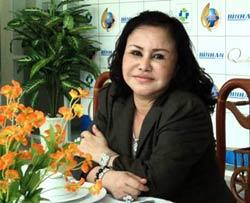 Bà Phạm Thị Diệu Hiền, tổng giám đốc Bianfishco. Courtesy of soha.vn