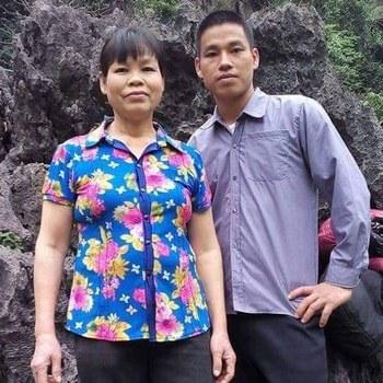 Bà Cấn Thị Thêu và con trai Trinh Bá Tư. Courtesy: Facebook