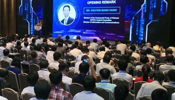 Hội thảo quốc tế về An ninh mạng 2019 tổ chức hôm 17/4/2019 tại Hà Nội.
