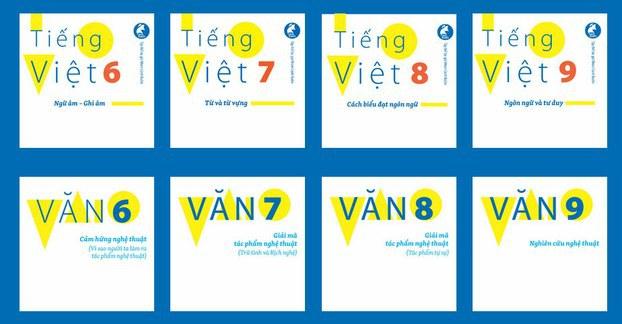 Bộ sách giáo khoa từ lớp 1 đến lớp 9