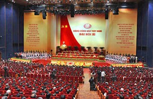Lễ khai mạc Đại hội Đảng Cộng sản Việt Nam XI tại Hà Nội vào ngày 12 tháng 1 năm 2011