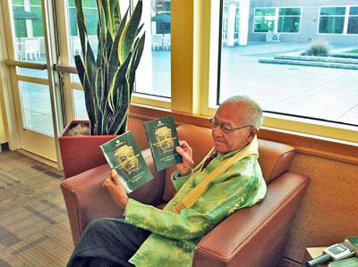 Tiến sĩ Po Dharma đến từ Pháp . Photo RFA