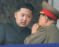 Chủ tịch Kim và tướng Ri lúc còn thân tín- torontosun.com photo