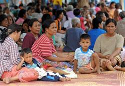 Dân Thái tị nạn chiến tranh biên giới