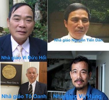 Một số thành viên Ban điều hành Hội Giáo chức Chu Văn An. Courtesy photo.