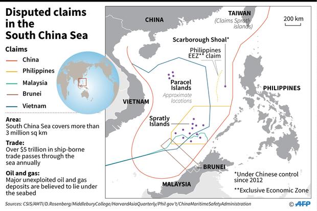 Tranh chấp lãnh hải giữa các quốc gia trên Biển Đông