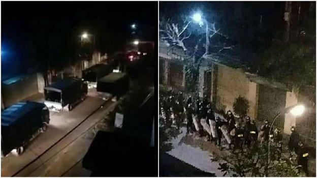 Sáng sớm ngày 9/1/2020, chính quyền Hà Nội đã huy động cảnh sát cơ động có trang bị vũ khí đến thôn Hoành, xã Đồng Tâm, trấn áp, bắt giữ một số người dân bị cơ quan chức năng cho là chống đối.