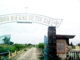 Nghĩa trang giáo xứ Cồn Dầu