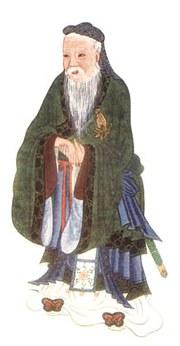Ảnh minh hoạ Khổng Phu Tử trong cuốn Thần thoại và Truyền thuyết Trung Hoa, 1922, của E.T.C. Werner