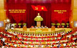 Buổi khai mạc Hội nghị lần thứ 6 Ban Chấp hành Trung ương Đảng cộng sản Việt Nam khoá XI tại Hà Nội hôm 01 tháng 10 năm 2012. Courtesy chinhphu.vn