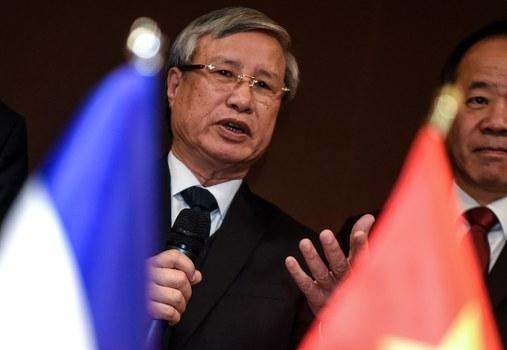 Hình minh họa. Ông Trần Quốc Vượng - Trưởng Ban bí thư Đảng CSVN ở Pháp hôm 26/10/2019