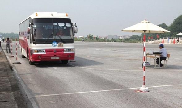 Nơi đào tạo, thi sát hạch bằng lái xe chở khách của Bộ GTVT (ảnh minh họa)