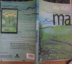 Bìa sách 'Ma chiến hữu'. Photo courtesy of dunglepower.blogspot.com.