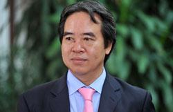 Thống đốc NHNN Nguyễn Văn Bình, ảnh chụp trước đây. File photo.