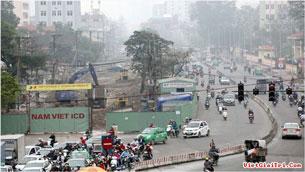 Tuyến đường Trường Chinh đã bị nắn cong để tránh hàng loạt nhà của quan chức