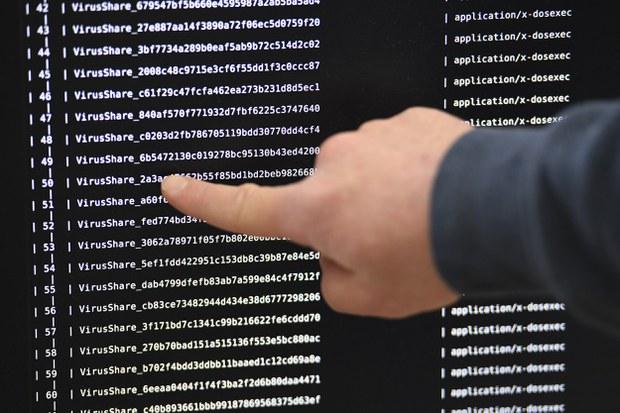Ảnh minh họa: Hệ thống máy tính bị nhiễm mã độc.