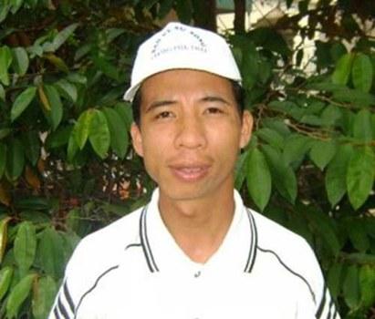Anh Đặng Xuân Diệu trước khi bị bắt