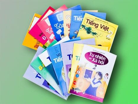 Một số cuốn sách giáo khoa của NXB Giáo Dục