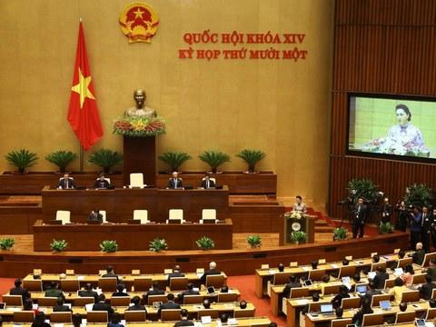 Khai mạc Quốc hội ngày 24 tháng 3 năm 2021.