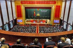 Một buổi họp Quốc hội tháng 11, 2013 tại Hà Nội