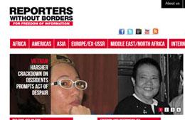 RSF lên án VN sau vụ tự thiêu của bà Đặng Thị Kim Liêng, mẹ của blogger Tạ Phong Tần. RFA file