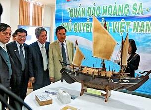 """Triển lãm """"Quần đảo Hoàng Sa - Chủ quyền của Việt Nam"""" tại Đà Nẵng"""