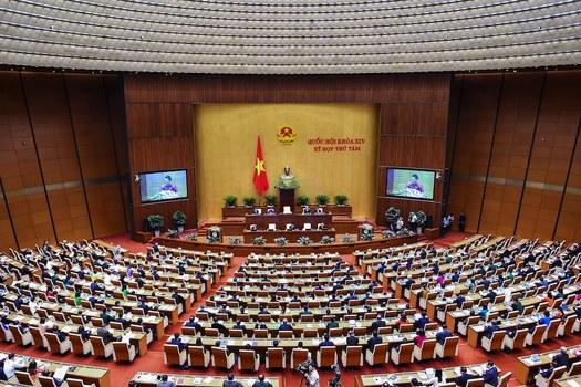 Hình minh hoạ. Quốc hội Việt Nam nhóm họp tháng 10/2018