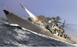 Khu trục hạm Nhật bản thao dượt