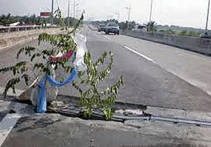 Những hư hỏng trên tuyến cao tốc TP.HCM-Trung Lương. Nguồn: vaidiakythuatvn.com