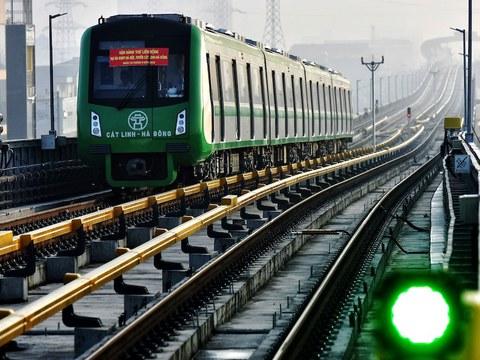 Hình minh hoạ. Dự án đường sắt Cát Linh Hà Đông do công ty Trung Quốc thực hiện bị trì hoãn 10 năm, đội vốn hàng trăm triệu đô la