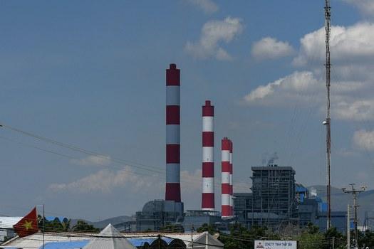 Hình minh hoạ. Hình chụp hôm 23/4/2019: Nhiệt điện Vĩnh tân ở tỉnh Bình Thuận do Trung Quốc đầu tư