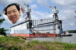 Ông Dương Chí Dũng, Cục trưởng Hàng hải, nguyên Chủ tịch Hội đồng quản trị Vinalines đã phê duyệt vụ mua sắm ụ nổi 83M với giá lên tới 26,3 triệu USD (gấp đôi dự toán ban đầu). RFA/Danviet