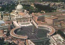 Vatican là quốc gia độc lập nhỏ nhất thế giới, với diện tích chỉ vẻn vẹn có 0,44 km2, lọt thỏm trong thành Rome. Wikipedia
