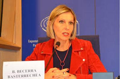 Nữ Dân biểu Beatriz Becerra, Liên minh Tự do và Dân chủ Châu Âu.