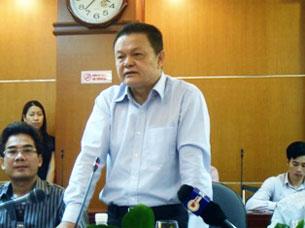 Ông Phạm Lê Thanh - Tổng giám đốc Tập đoàn Điện lực Việt Nam. Ảnh: MH-Vietbao.vn