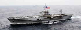 Soái hạm Blue Ridge của hạm đội 7, đến Việt Nam huấn luyện- navymil photo