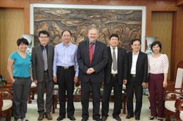 Ban Tôn giáo Chính phủ tiếp Báo cáo viên Đặc biệt về Tự do Tôn giáo hoặc Tín ngưỡng của Liên hợp quốc ngày 22/7/2014, tại trụ sở Ban Tôn giáo Chính phủ (danluan.org)