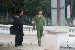 Bức ảnh hiếm hoi của TS Cù Huy Hà Vũ trong trại giam