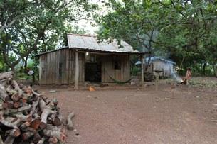 Căn nhà của một người trồng điều ở Bù Đăng, Bình Phước