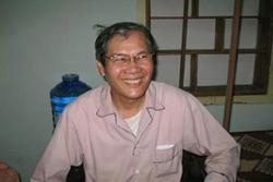 Linh Mục Nguyễn Văn Lý tại Nhà Chung - Huế cách đây một năm. RFA files