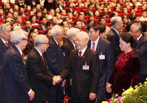 Chủ tịch nước kiêm Tổng bí thư Đảng Cộng sản Việt Nam Nguyễn Phú Trọng hôm 26/1/2021.