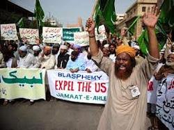 Biểu tình chống Mỹ ở Pakistan- globalmontreal photo