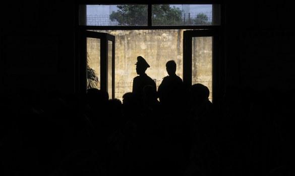 Một trại giam ở Hà Nội. Minh họa.